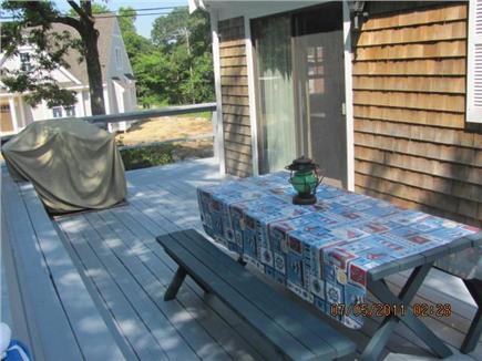 New Seabury, Mashpee New Seabury vacation rental - Spacious wrap-around deck with gas grill, enjoy a meal outside