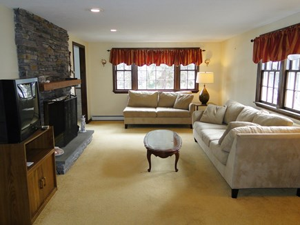 New Seabury, Mashpee New Seabury vacation rental - Large living room with new flat screen TV on the way