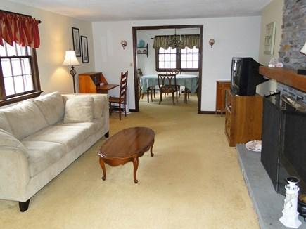 New Seabury, Mashpee New Seabury vacation rental - Comfortable living room - facing dining room