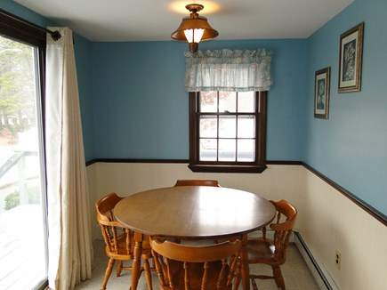 New Seabury, Mashpee New Seabury vacation rental - Other side of kitchen with additional seating,step out onto deck