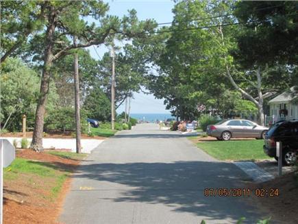 New Seabury, Mashpee New Seabury vacation rental - View of Private Beach from Front Yard, 100 yards!!