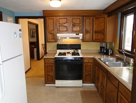 New Seabury, Mashpee New Seabury vacation rental - Well equipped kitchen with microwave, coffemaker, gas stove