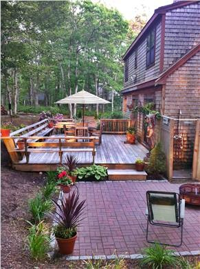 Brewster Cape Cod vacation rental - Patio and deck