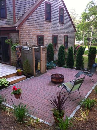 Brewster Cape Cod vacation rental - Patio and outside shower