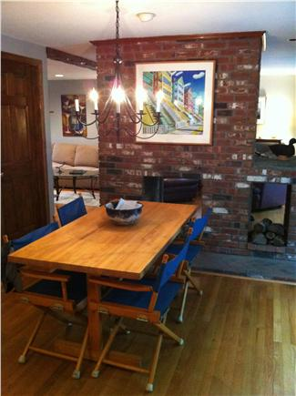 Brewster Cape Cod vacation rental - Dining area has a 6' slider looking out to Nickerson Sate Park