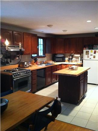 Brewster Cape Cod vacation rental - Kitchen equipped with lobster/shellfish steaming pots and pans