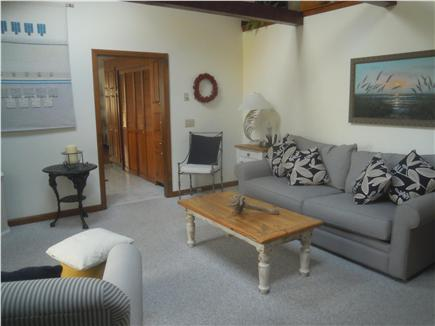 South Orleans Cape Cod vacation rental - Family room with a flat screen tv.