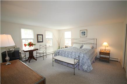 South Orleans Cape Cod vacation rental - Spacious and bright master bedroom with king bed, ceiling fan.