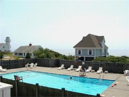 West Yarmouth Cape Cod vacation rental - Large swimming pool with ample seating.
