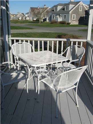 West Yarmouth Cape Cod vacation rental - Large Front Porch with table and 4 chairs.