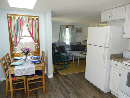 West Yarmouth Cape Cod vacation rental - Dining area with skylight, freshly painted and new floors