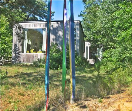 Wellfleet Cape Cod vacation rental - Studio and Guest House in back with water views