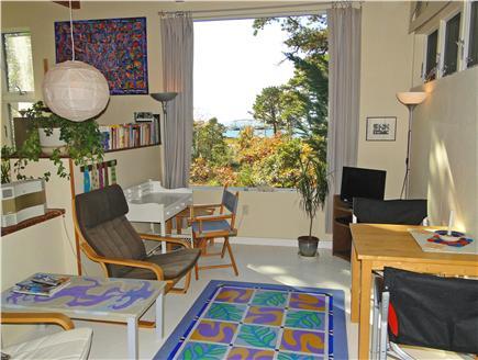 Wellfleet Cape Cod vacation rental - Studio living room, facing water