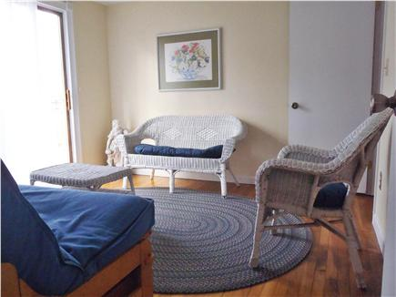 Hyannis Cape Cod vacation rental - Sitting Room, Leading to deck