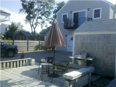 Kingston, Plymouth Area MA vacation rental - Back deck with BBQ grill