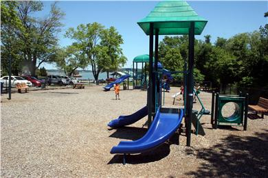 Kingston, Plymouth Area MA vacation rental - Playground for kids is at the beach park