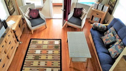 Kingston, Plymouth Area MA vacation rental - Cozy living room with southwest flavor