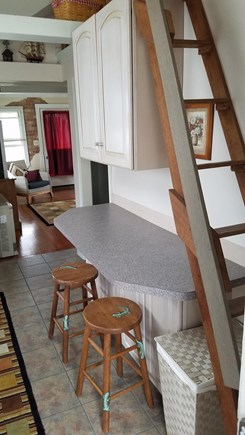 Kingston, Plymouth Area MA vacation rental - Eat in kitchen bar
