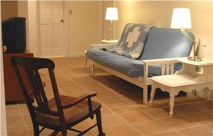Orleans Cape Cod vacation rental - Downstairs living area, now has flat screen TV