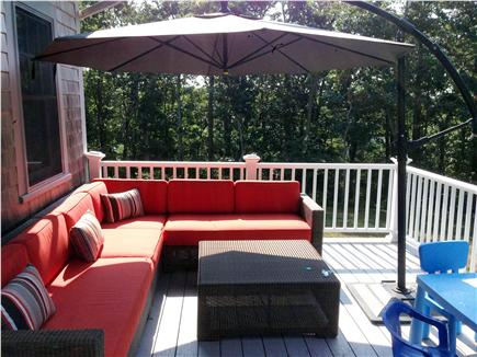 Wellfleet Cape Cod vacation rental - Back deck for your enjoyment!