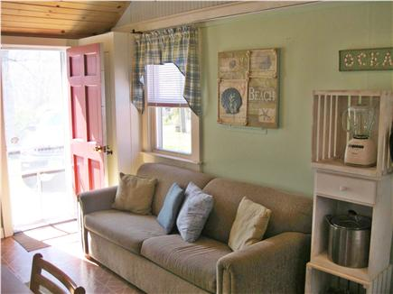 Eastham Cape Cod vacation rental - Bright, comfy Common Area with window a/c