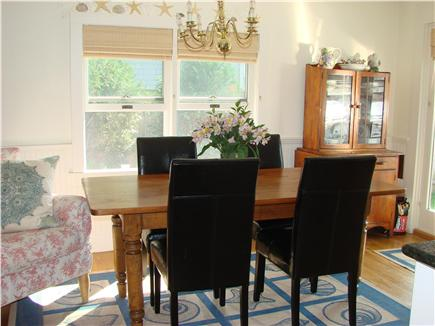 Barnstable Cape Cod vacation rental - Smaller dining  table located in the kitchen