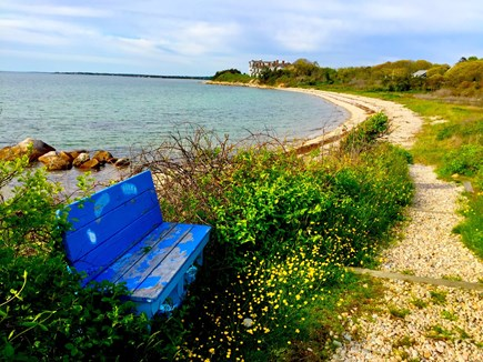 Falmouth, Woods Hole/Sippewissett/Gunnin Cape Cod vacation rental - Just a 2 minute barefoot walk to the private association beach...