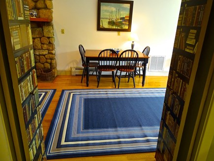 Falmouth, Woods Hole/Sippewissett/Gunnin Cape Cod vacation rental - The dining table can seat 6 persons in this generously cut condo