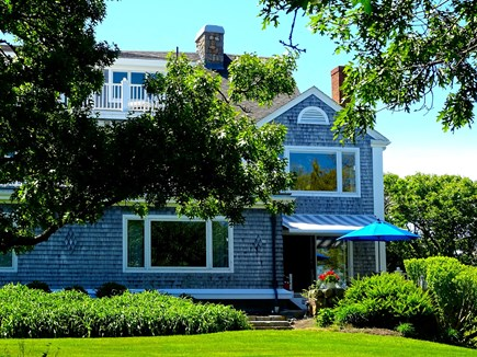 Falmouth, Woods Hole/Sippewissett/Gunnin Cape Cod vacation rental - The condo is located at the far right corner of the estate house