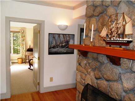 Falmouth, Woods Hole/Sippewissett Cape Cod vacation rental - The airy  guest room with walk-in closet is off the living area