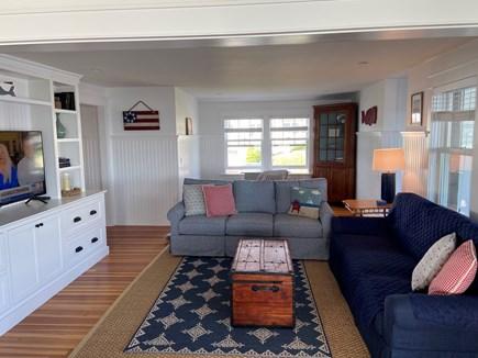 Sagamore Beach Cape Cod vacation rental - TV area/den