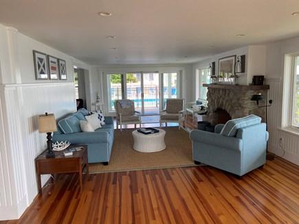 Sagamore Beach Cape Cod vacation rental - Large living room area
