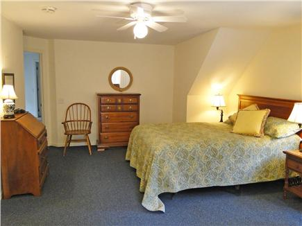 Dennis Village Cape Cod vacation rental - Bedroom 3 with queen bed, desk, and cozy reading corner