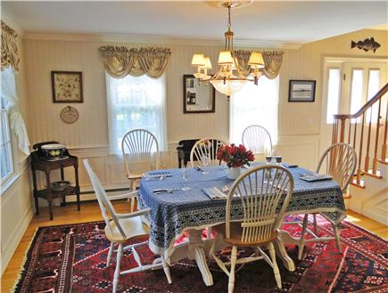 Dennis Village Cape Cod vacation rental - Dining room (Table expands to seat 8-10 comfortably.)