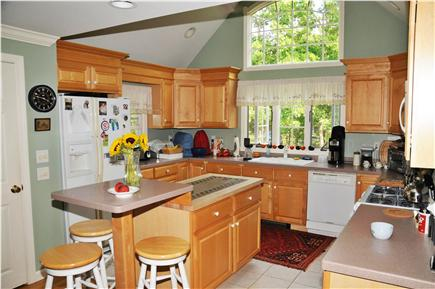 Dennis Village Cape Cod vacation rental - Fully equipped gourmet kitchen, which opens up to sitting room