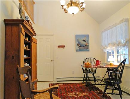 Dennis Village Cape Cod vacation rental - Sunny, cozy room adjacent to kitchen--perfect for morning coffee