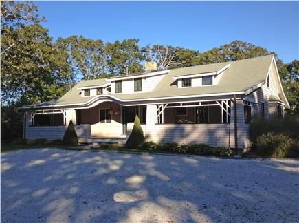 Hyannisport Cape Cod vacation rental - Front entrance of house