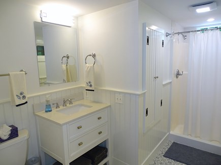 Hyannisport Cape Cod vacation rental - Newly remodeled main floor full bathroom