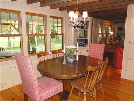 Hyannisport Cape Cod vacation rental - Dining area, adjacent to screened porch and kitchen