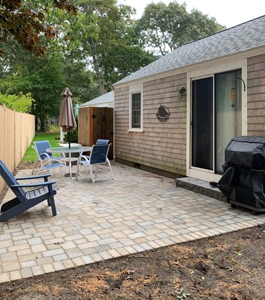South Yarmouth Cape Cod vacation rental - Back patio