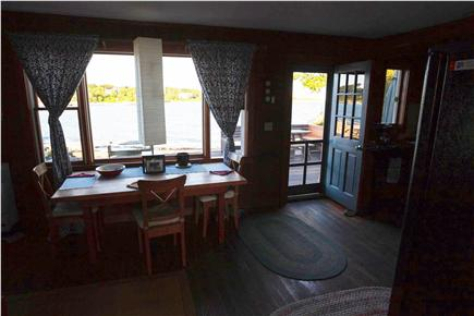 Woods Hole Woods Hole vacation rental - Living & dining room in cottage