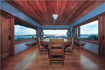 Woods Hole Woods Hole vacation rental - West dining room