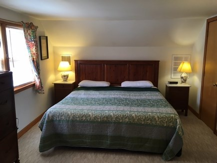 Brewster Cape Cod vacation rental - King bedroom up