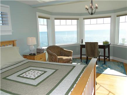 West Yarmouth Cape Cod vacation rental - Second floor queen bedroom with door to upper deck