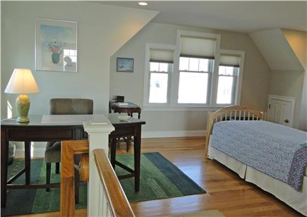 West Yarmouth Cape Cod vacation rental - Second floor open loft area with two twin beds and desk