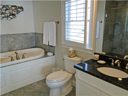 West Yarmouth Cape Cod vacation rental - Each bathroom is gorgeous, modern and spacious