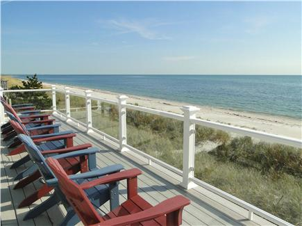 West Yarmouth Cape Cod vacation rental - Incredible views from first floor deck