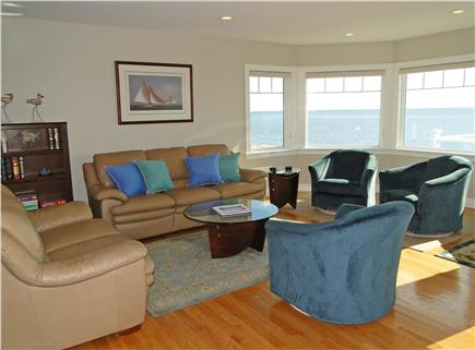 West Yarmouth Cape Cod vacation rental - Comfortable living room, panoramic views