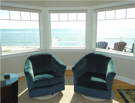 West Yarmouth Cape Cod vacation rental - Closer view of living room – overlooking beach
