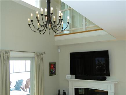 West Yarmouth Cape Cod vacation rental - Living room TV
